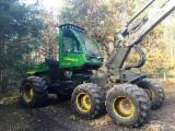 Used 2001 Timberjack 1470A Harvester in Germany