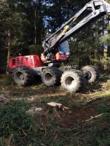 Oprema Za Šumu I Žetvu - Polovna 2004 Obarač Stabala Valmet 911.3 sa Njemačka