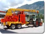 Oprema Za Šumu I Žetvu - Polovna 2013 Pokretni Kabl-Kran Koller  501 sa Italija