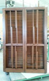Pine  - Redwood Finished Products - Pine (Pinus Sylvestris) - Redwood Doors in Italy