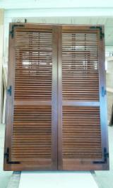 Pine  - Redwood Finished Products - Softwoods, Pine (Pinus sylvestris) - Redwood, Doors
