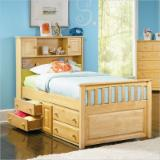Children's Room - Traditional, Сосна обыкновенная, Beds, 10+ pieces per month