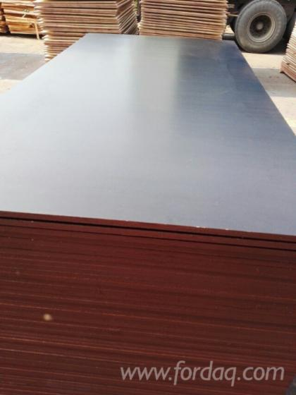 Construction film faced plywood, concrete formwork