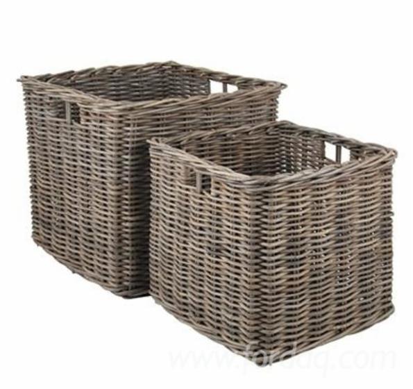 Kooboo Wicker Chair: Kooboo Basket