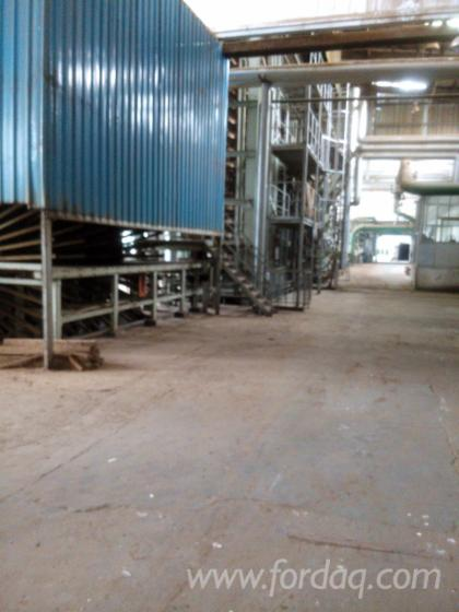 Second-hand-MDF-production-line-for