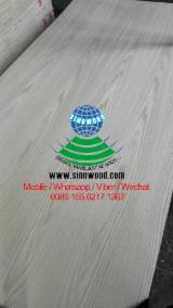 Compensati Cina - Vendo Compensato Riplaccato Legno Rovere Bianco 2.5-18 mm Cina