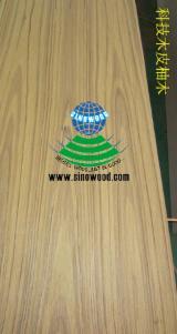 China Supplies Fancy (Decorative) Plywood, engineered teak veneer