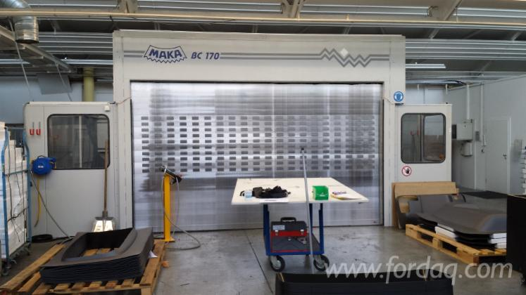 Used 2014 MAKA BC 170 CNC machining center For Sale in Germany