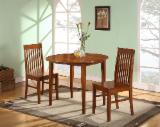 Tainted Wood Dining Room Furniture - Rubberwood Dining Set