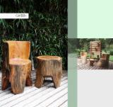 Meubles Et Produits De Jardin Amérique Du Sud - Vend Ensemble De Jardin Art & Crafts/Mission Feuillus Sud-Américains Sucupira Preta (Sapupira, Zwarte Kabbes) São Paulo