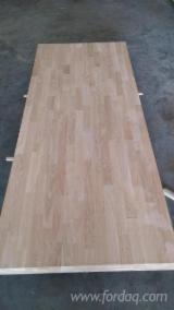 Edge Glued Panels Discontinuous Stave Finger-joined - European White Oak finger joint laminated panel