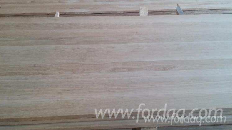 American White Oak Solid Edged Glued Panel - Good Quality Panel
