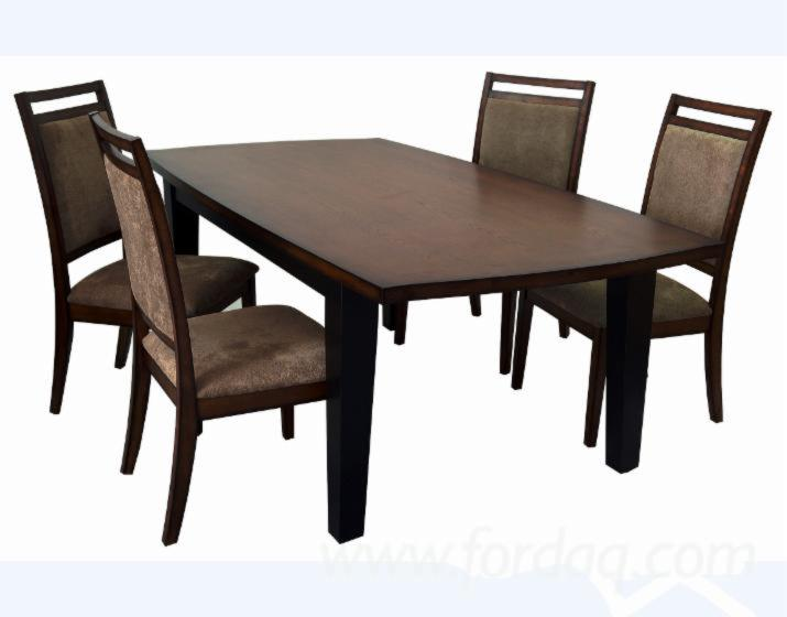 vend ensemble table et chaises pour salle manger traditionnel. Black Bedroom Furniture Sets. Home Design Ideas