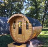 Case In Legno Germania - Sauna  Abete  - Legni Bianchi Resinosi Europei