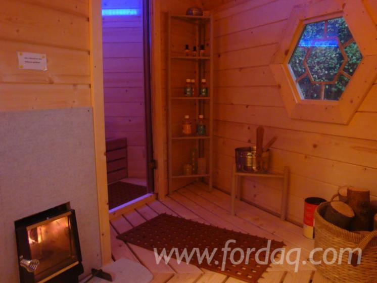 Caba a para sauna abeto madera blanca - Madera para sauna ...