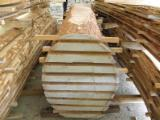 Hardwood  Unedged Timber - Flitches - Boules - Oak boules offer from Croatia