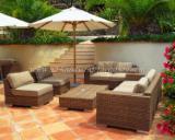 Garden Furniture Art & Crafts Mission - Wicker furniture sofas offer