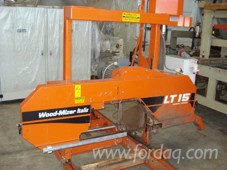 Wood Mizer LT15 horizontal band saw