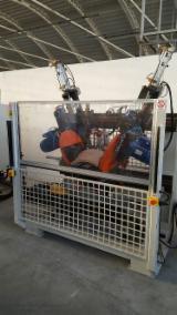 DOUBLE CUTTING MACHINE BRAND TECNO SISTEM MOD. TE/2C/M