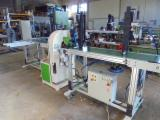 CNT MACHINES Woodworking Machinery - N.1 ORBITAL SANDING MACHINE WITH ABRASIVE BELTS EQUIPPED WITH N.2 FEEDING UNITS AND ONE PAIR OF SMALL TABLES FOR SANDING STRAIGHT (FLAT) , CURVED AND SHAPED CHAIR PIECES, WITH ROUND AND OVAL SECTION A
