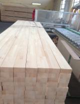 Edge Glued Panels Beech Europe Discontinuous Stave Finger-joined FSC - Solid wood panel, Beech (Europe)