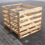Wholesale Wood New Spruce Picea Abies - Whitewood - Crates, New