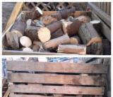 Firewood, Pellets And Residues - Spruce  Firewood/Woodlogs Cleaved -- mm