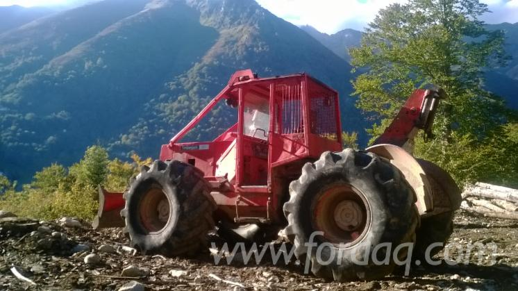 tracteur forestier occasion france