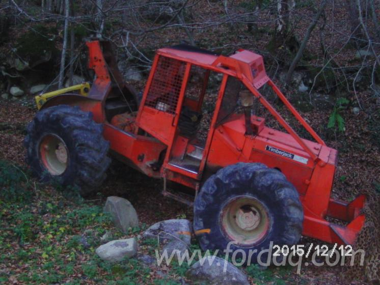 tracteur forestier timberjack a vendre