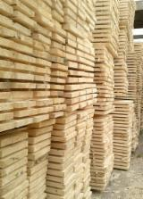 Softwood  Sawn Timber - Lumber - Planks (boards) , Spruce (Picea abies) - Whitewood, Thermo Treated