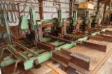 BRENTA Blockbandsäge Anlage für exotisch Holz, type 1600