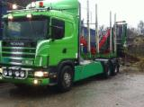Forest & Harvesting Equipment - Used SCANIA 1998 Longlog Truck in Romania