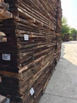 Hardwood  Unedged Timber - Flitches - Boules Italy - Loose, Walnut (American Black)