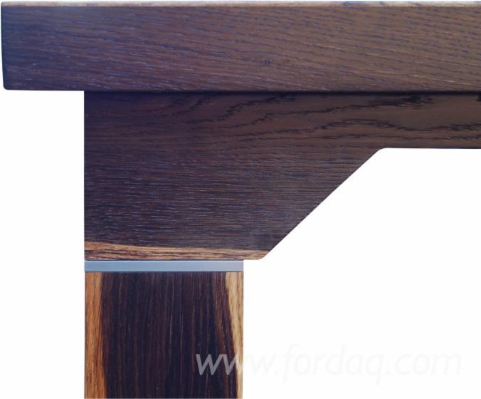 Tisch Eiche Geräuchert tisch massiver eiche geräuchert mit granit
