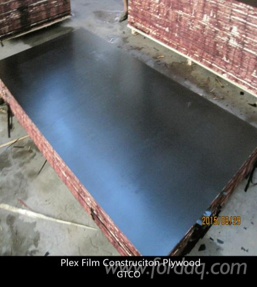 Film-faced-plywood--Waterproof-construction-film-plywood