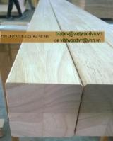 Buy Or Sell Wood Stairs - Rubberwood FJL panels used for stairs (EU standard) / Rubber wood finger jointed laminated