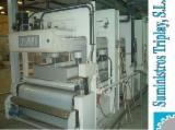 Holzbearbeitungsmaschinen Spanien - Gebraucht 2007 COLOMBO Lamellierpresse in Spanien