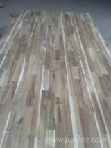 1 层实木面板, 阿拉伯树胶