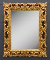 Specchiera finitura Foglia Oro