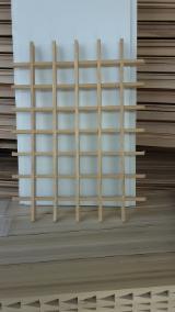 grigliati( carabottini) in legno, telai all'inglese