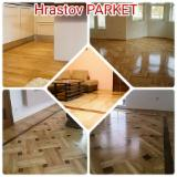 Solid Wood Flooring - 20-25 mm Oak  Parquet Tongue & Groove Serbia