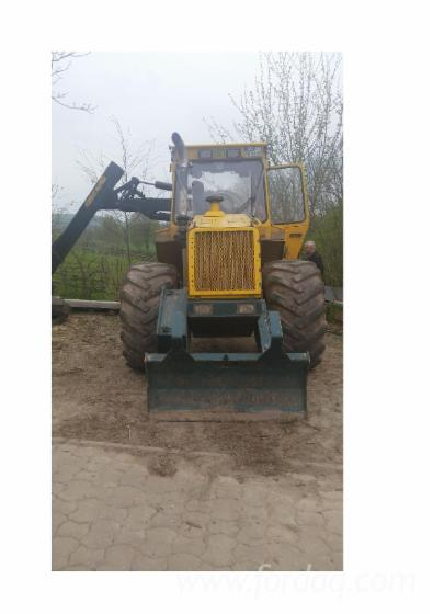 Used-2004-HSM--904-Articulated-Skidder-in