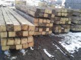 Sawn And Structural Timber Fir Abies Alba - -- mm Air Dry (AD) Fir  Beams Romania