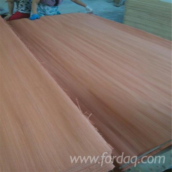 Rotary-cut-keruing-wood-veneer-rotary-cut