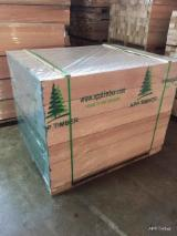Mouldings - Profiled Timber For Sale - Red Meranti, laminated scantlings, DKD