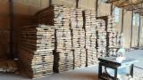 Hardwood  Unedged Timber - Flitches - Boules Romania - Boules, Oak (European)