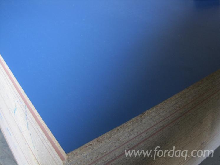 Blue-laminated-melamine-chipboard