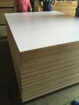 Plywood CE - 1830x960mm matt white melamine particle board