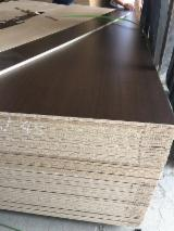 Plywood CE - Walnut melamine face poplar particle board for furniture