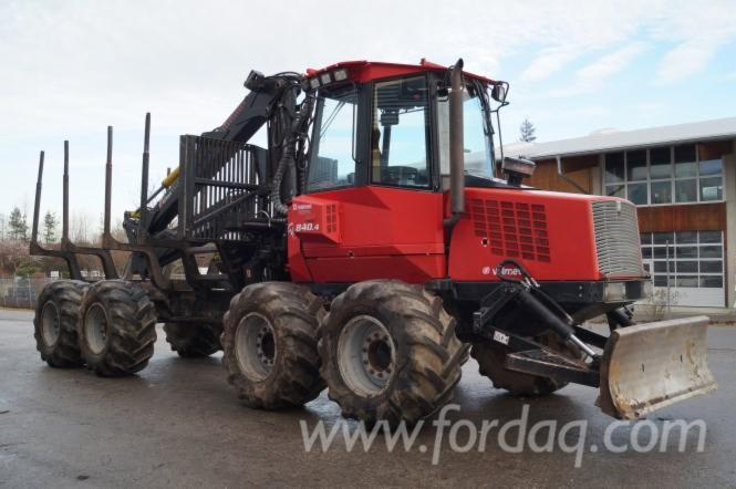 Used-2009-Valmet--8203-h-840-4-Forwarder-in